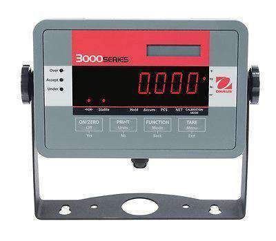 Ohaus T32ME Mild Steel Scale Indicator NTEP Legal For Trade NEW With Warranty #displayresolution