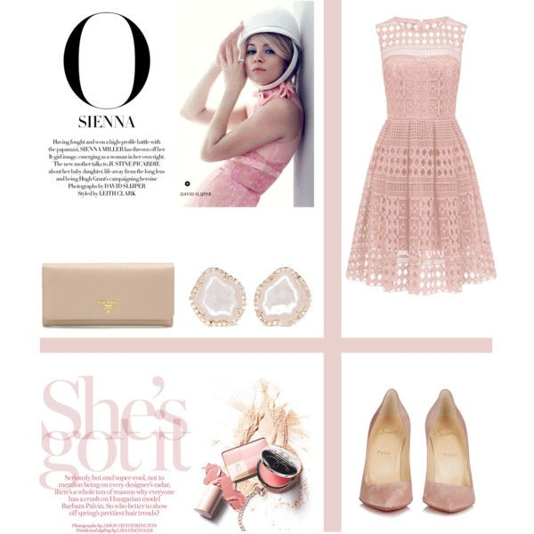 Sans titre #322 by giirly1994 on Polyvore featuring Christian Louboutin, Prada…