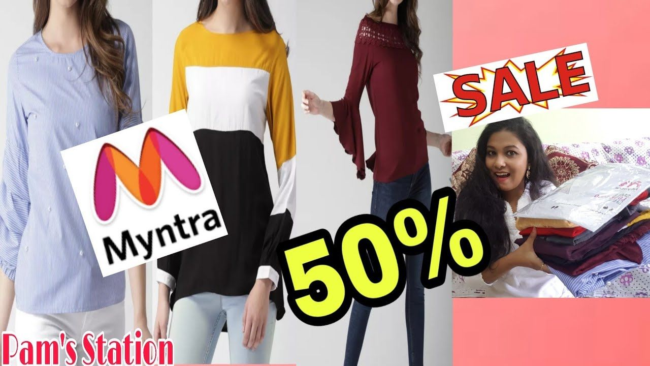 16d6f4f45 50 % SALE ( CASUALS) HUGE MYNTRA - TRY ON HAUL | PAM'S STATION | Casual