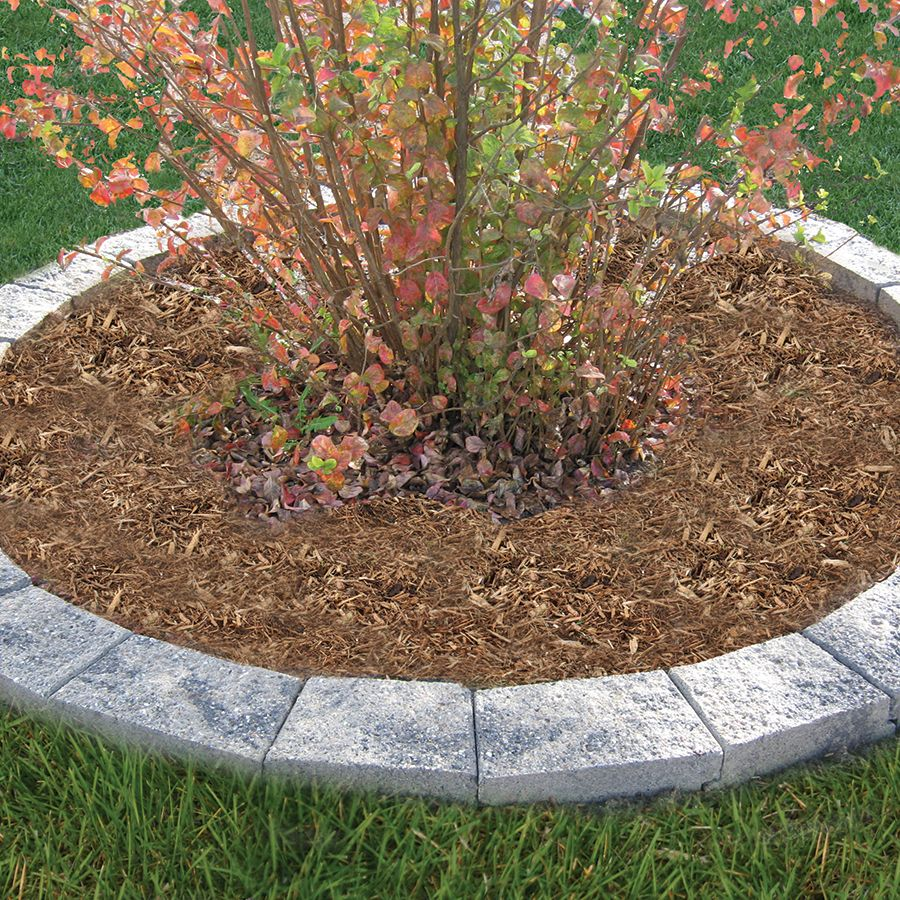 Tree ring with stones from Lowes - nsignia Tan-Gray-Charcoal/Hard ...