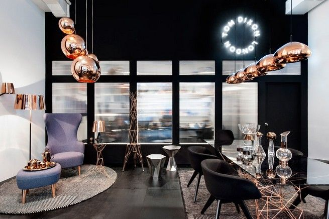 Tom Dixon Opens New Showroom in Manhattan | See more articles at http://www.delightfull.eu/en/news/
