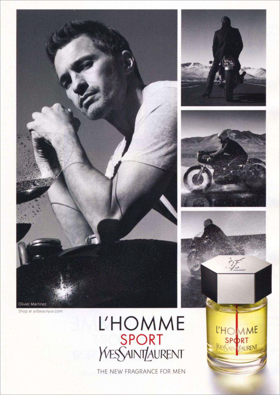 Sport Parfum Homme Fragrance LaurentL'homme Pub Yves Saint iOZukXP