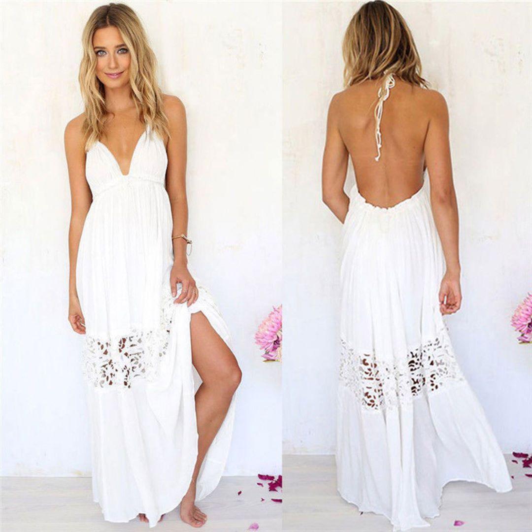 Boho Maxi Long Dress Sizes Free Shipping