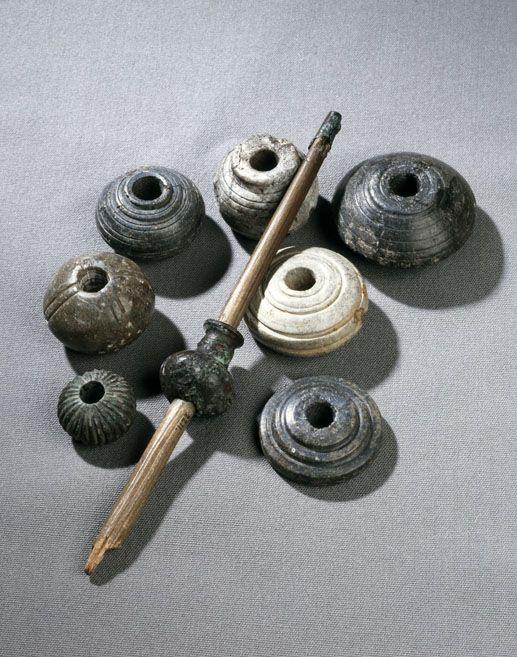 Arkeologi i nord: Spinnehjul fra folkevandringstid