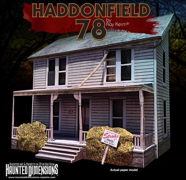 Halloween 2020 Meyers House Halloween   Michael Myers House Paper Model   by Ray Keim