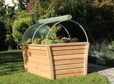 hochbeet mit dach wood planter pinterest garden growing vegetables and small gardens. Black Bedroom Furniture Sets. Home Design Ideas