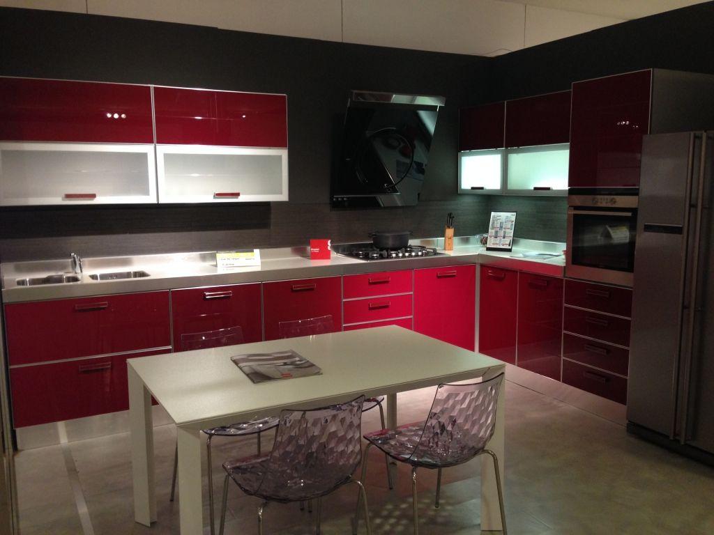 Cucina mod. #Crystal di #Scavolini su www.outletmobili-italia.it ...