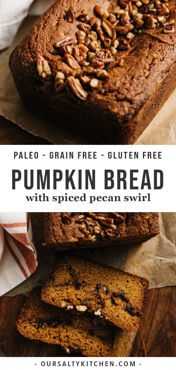 Paleo Pumpkin Bread images