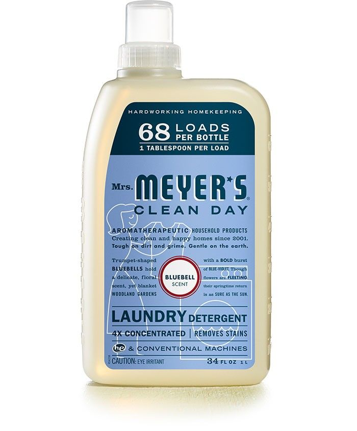 Mrs Meyer S Clean Day Bluebell Scented All Natural Laundry