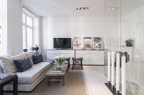 Design Interior Apartemen Studio design interior stylish apartemen studio 34m207 | desain