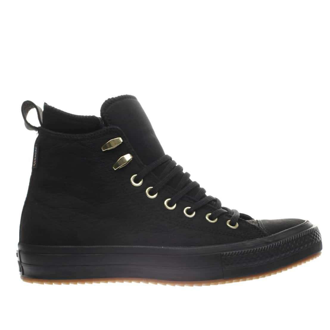 dfd620733ac7 ... hot womens black converse all star waterproof boot hi trainers schuh  e18ed 26326 ...