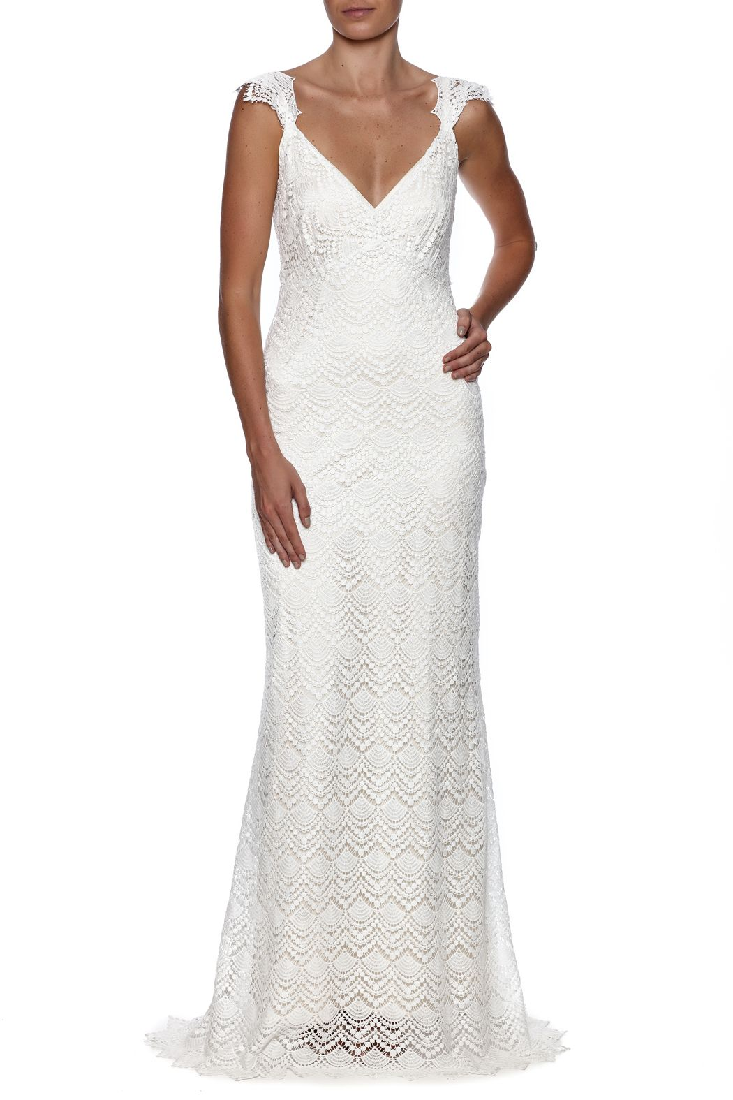 Cicada liberty gown pinterest cotton crochet ivory silk and