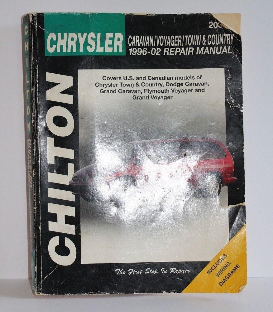 Chilton Automotive Bks Chrysler Caravan Voyager Town Country