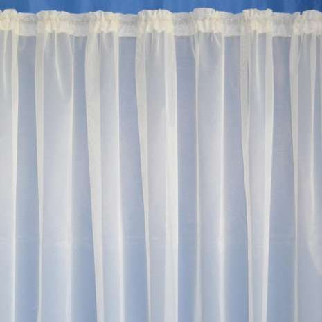 Crafted From Soft Lace Material This Leaded Curtain Net Fabric Is