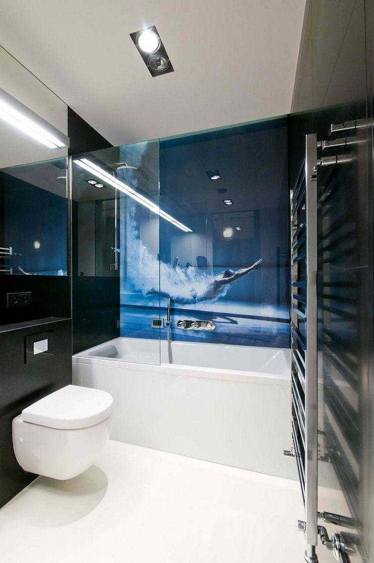 Glas Statt Fliesen Im Bad Pflegeleicht Und Dekorativ Badezimmer Innenausstattung Badezimmer Design Badezimmer Renovieren