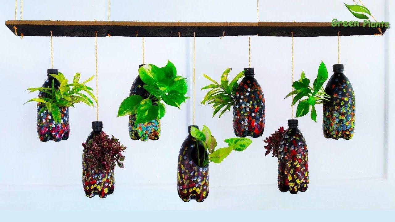 43c2d939c0940dc8e4038a57e992bea9 - Diy Plastic Bottles Hanging Flower Gardens