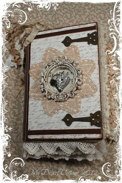 **My Desert Cottage**: Yummy Prizes and Altered Books