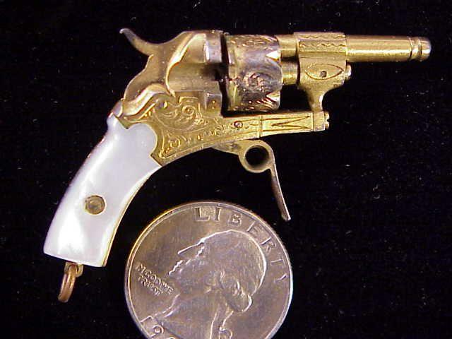 Vintage revolver sixshot
