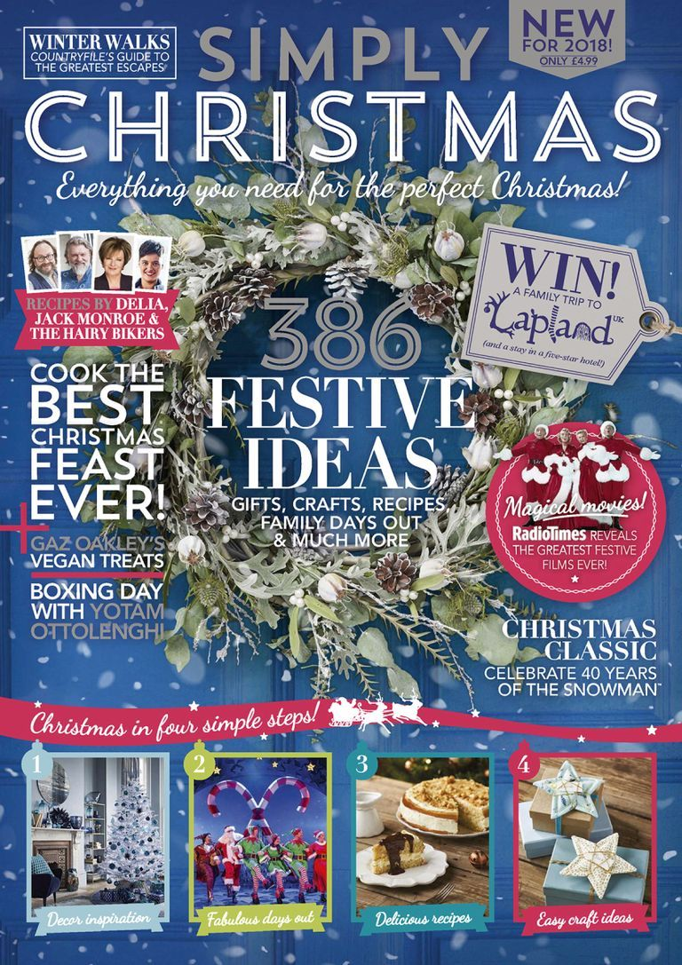 Simply Christmas Magazine Digital In 2020 Sustainable Christmas Festive Table Setting Christmas Fun