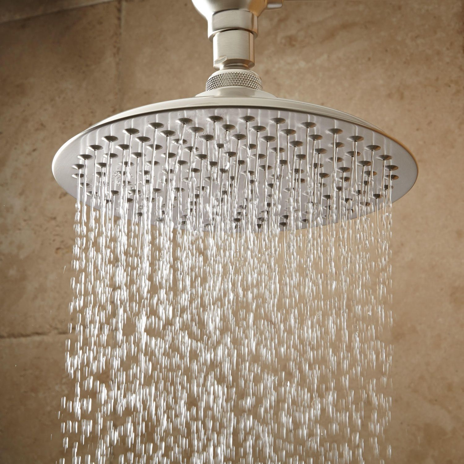 8 Bostonian Rainfall Shower Head In 12 Ornate Arm In Chrome