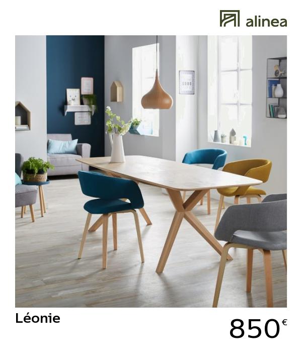 Alinea Leonie Table Extensible Avec Allonge Papillon L185cm A