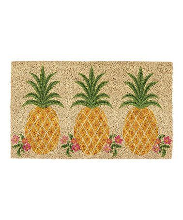 Another great find on #zulily! Pineapple Paradise Doormat #zulilyfinds