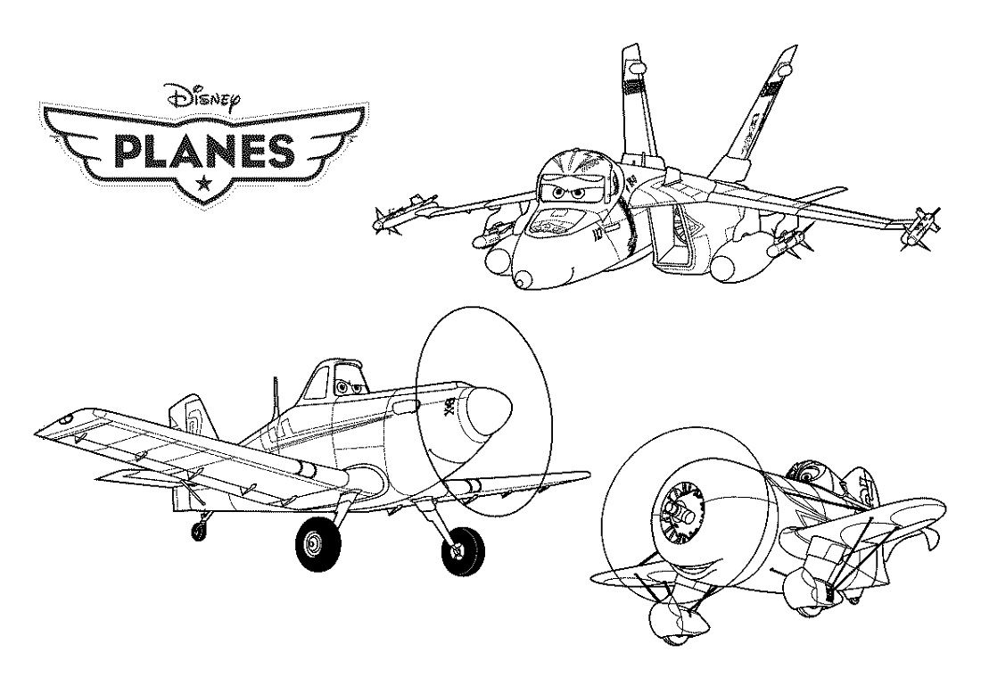 Wonderful Planes Coloring Pages New  Coloring pages, Airplane
