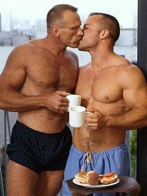 erect gay boys