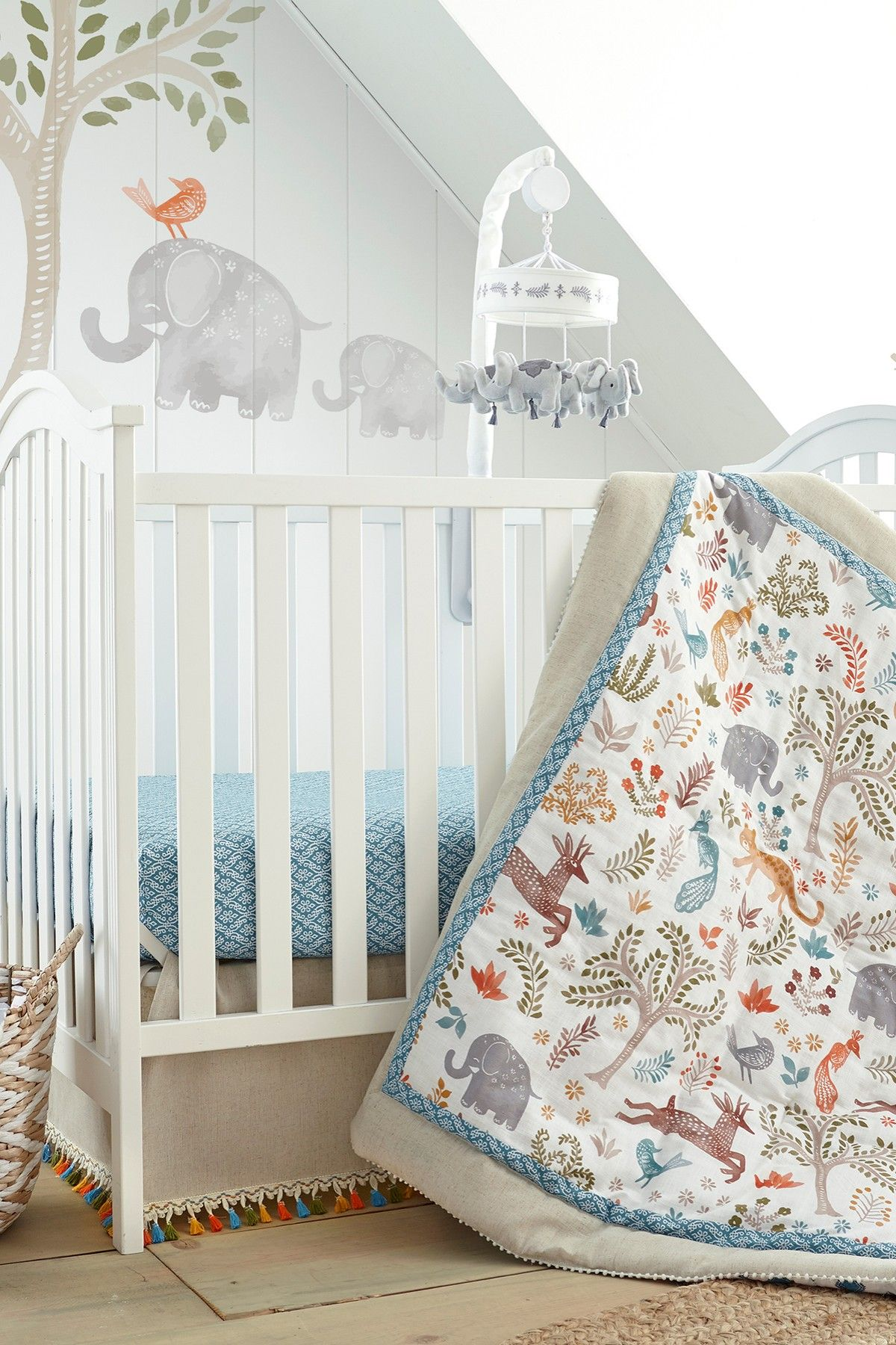 Levtex   Jungalo Bedding 5 Piece Set   Natural   Crib is now 34