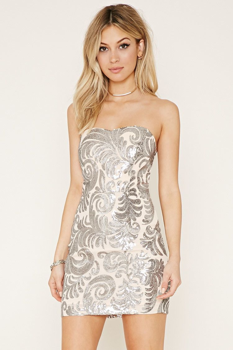 Sequin Bodycon Dress | Forever 21 - 2000153644 | Dresses | Pinterest ...