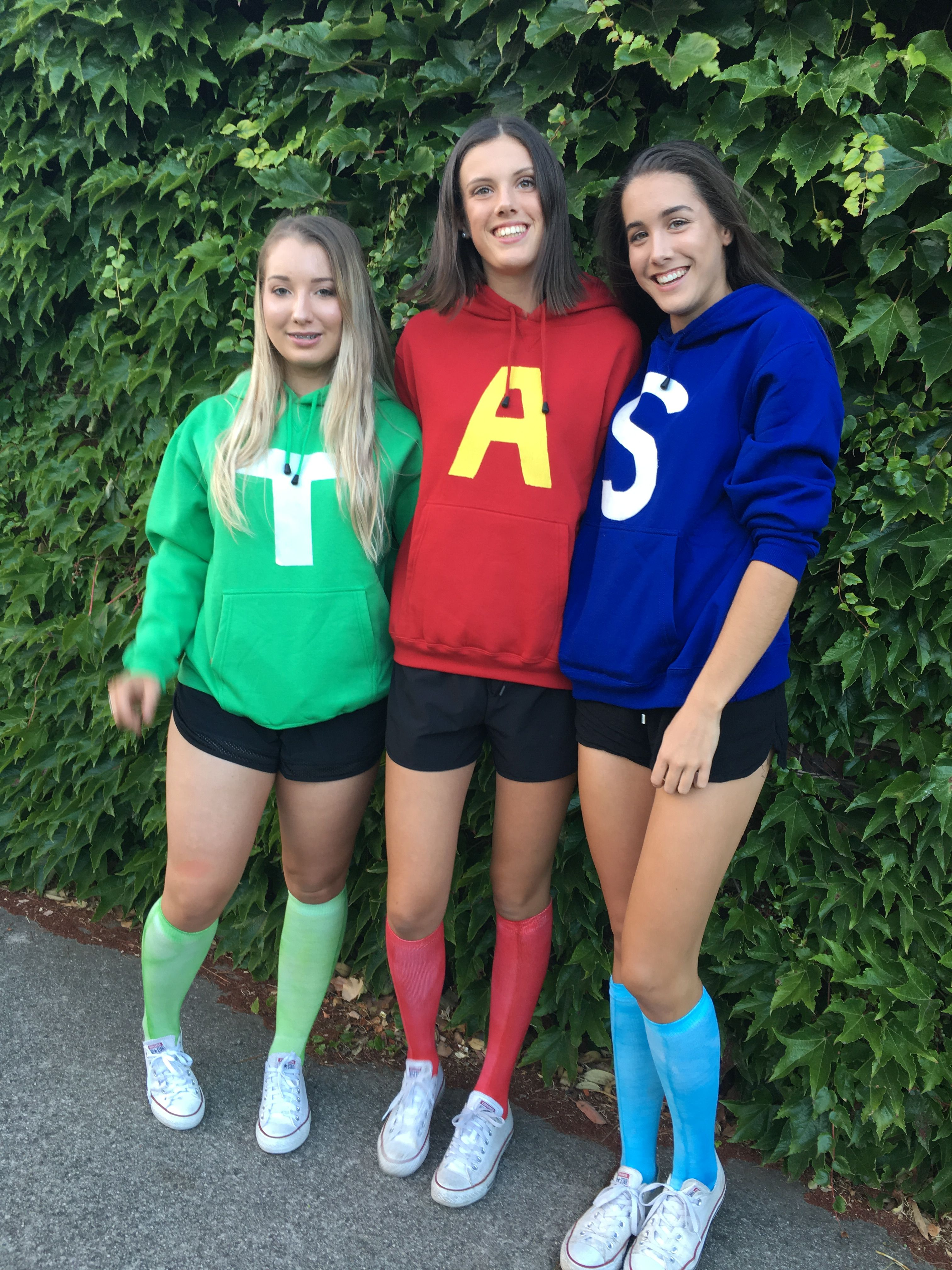 Alvin And The Chipmunks Costume Cool Halloween Costumes Duo Halloween Costumes Halloween Costumes Friends
