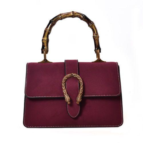 b49a1f61aa Snake-Hasp-Women-Lady-shoulder-Messenger-Cross-body-Bag-Tote-Handbags -Fashion
