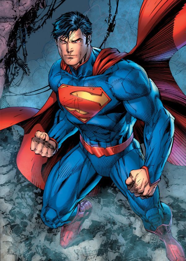 "Official DC Comics Jim Lee Collection Kal El #Displate artwork by artist ""DC Comics"".… | Displate thumbnail"