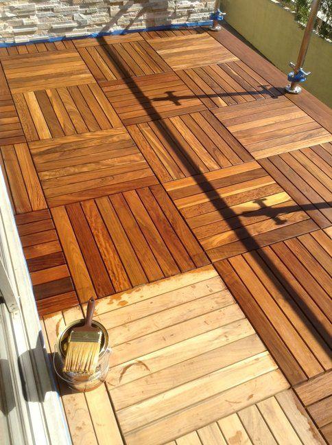 Pin on Interlocking deck tiles
