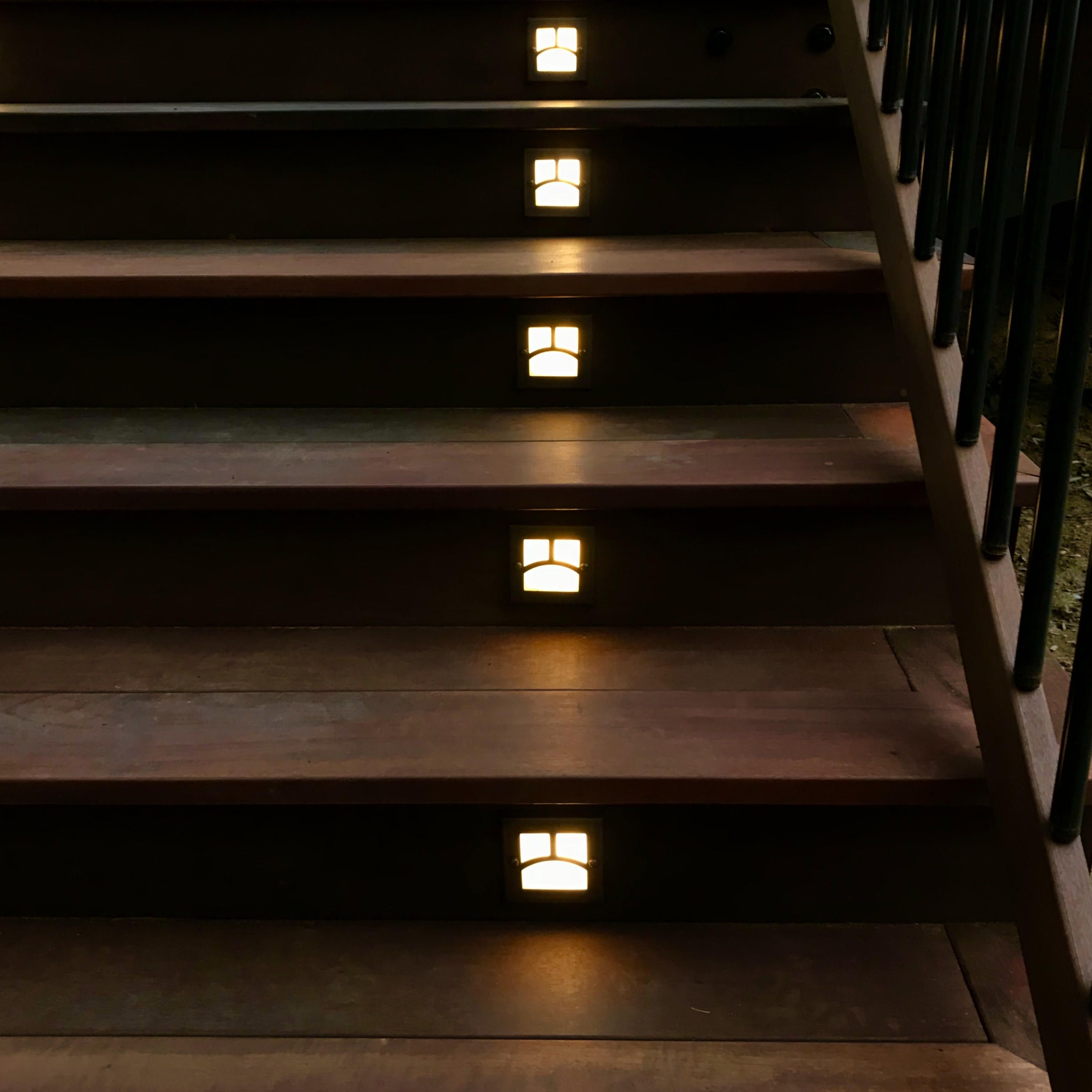 Moab Recessed Led Riser Light By Highpoint Deck Lighting Deck Lighting Led Deck Lighting Solar Deck Lights