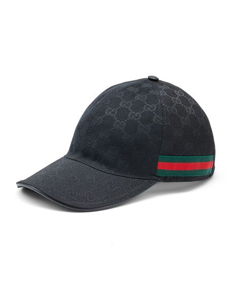 GUCCI CANVAS BASEBALL HAT 341476b18042