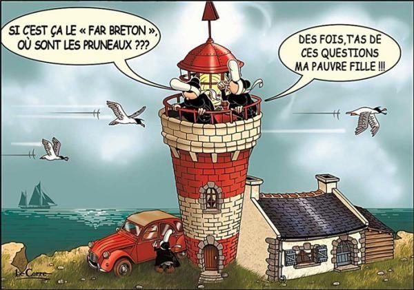 Carte Postale Bretagne Humour.Carte Postale Mam Goz Le Far Breton Bretanija Humour
