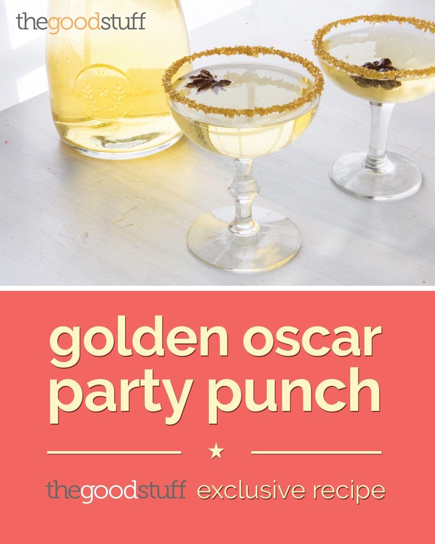 Thegoodstuff Diy Recipe Savings Ideas From Coupons Com Oscar Party Recipes Party Punch Oscar Food