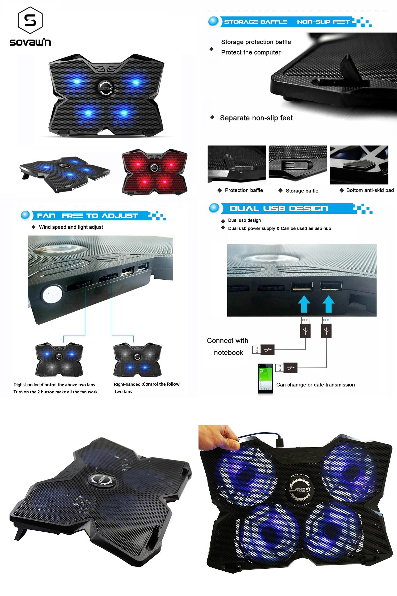 Visit to Buy] CoolCold Ice Magic 2 Pro Metal 4 Silence Fans