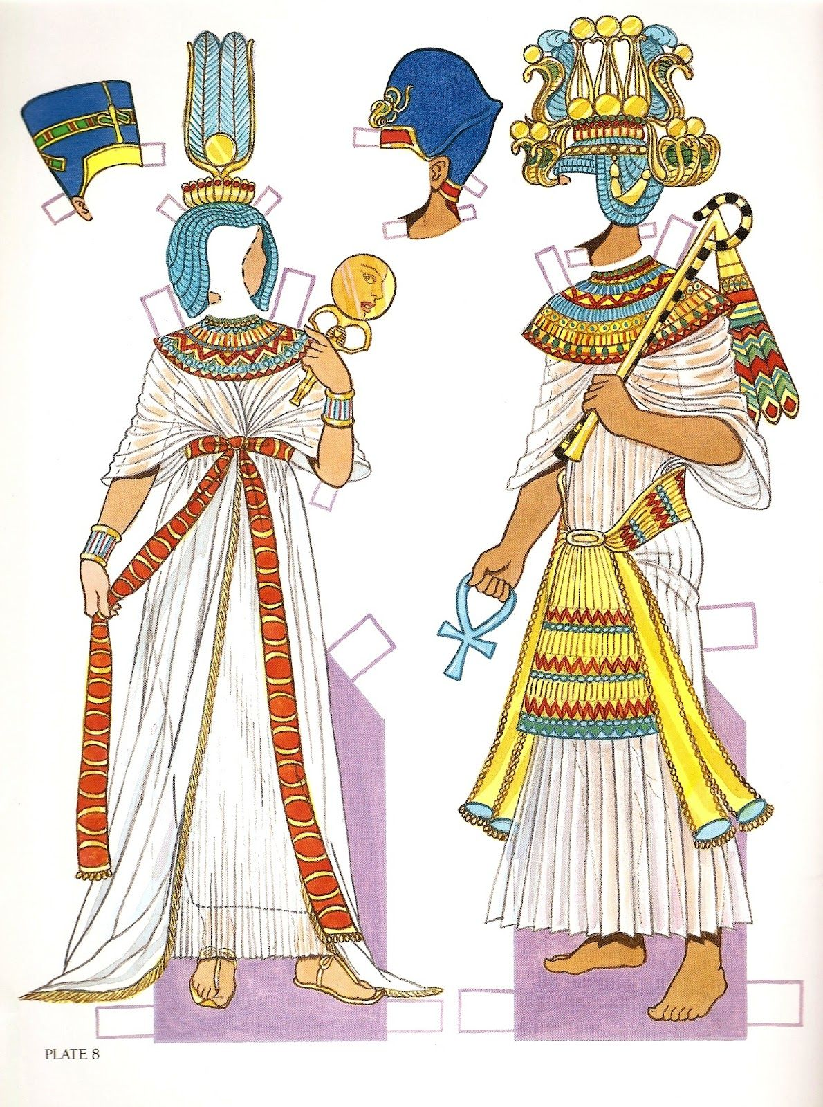 Egyptian paper doll ancient egypt paper dolls 2 pinterest egyptian paper doll ancient egypt robcynllc Images
