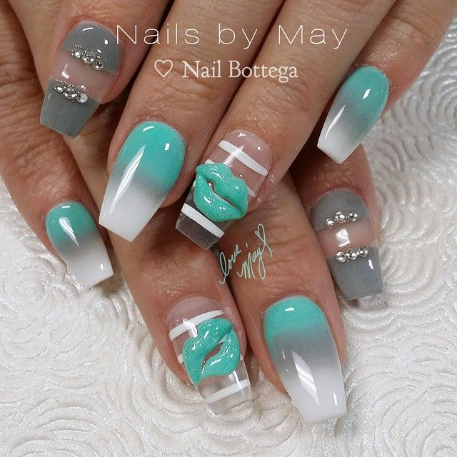Instagram photo of acrylic nails by nailsby_may | Nail art ...