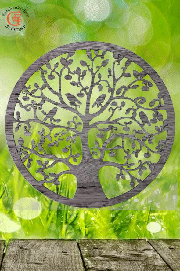 Holz Baum des Lebens Baum des lebens Wanddeko Baum