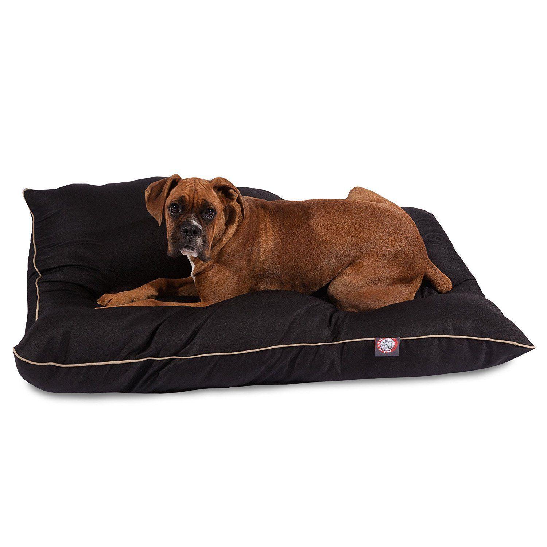 Amazon Com 35x46 Black Super Value Pet Dog Bed By Majestic Pet Products Large Large Dog Bed Pet Supplies Majestic Pet Dog Pet Beds Dog Bed
