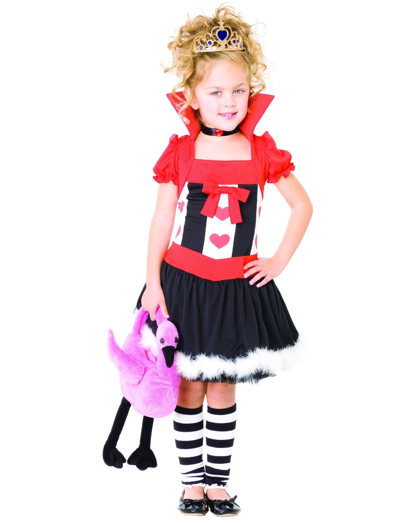 X Small costume for decor Queen of hearts costume