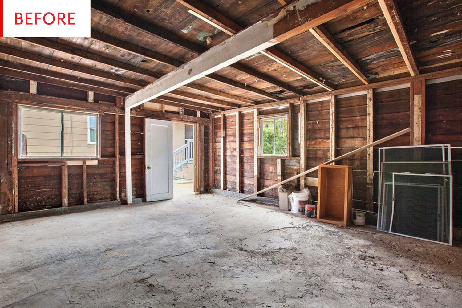 Before & After: A Converted Garage To $20K Studio Apartment ...