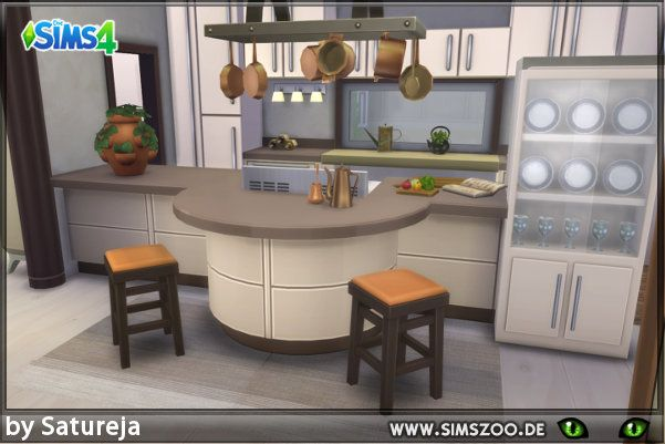 Tierra kitchen by satureja at blacky   sims zoo via updates also best decorating the house ideas images on pinterest rh