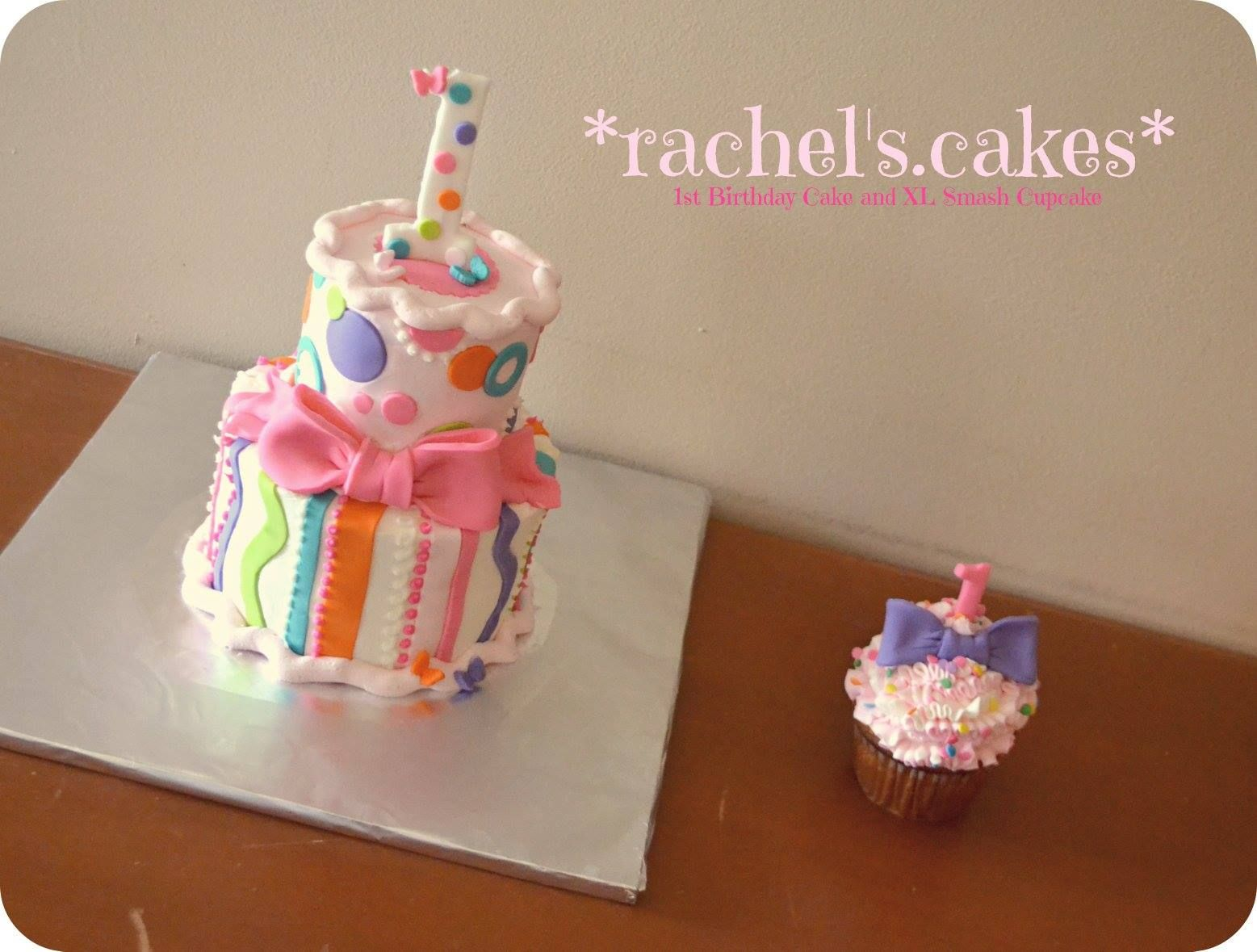 1st birthday cake for a girl httpswwwfacebookcomtherachels