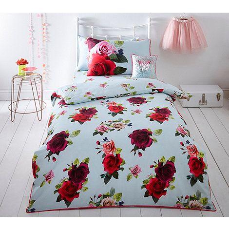 Baker By Ted Baker Multicoloured 39 Tumbling Rose 39 Single Size Bedding Set Debenhams Bed Sets For Sale Rose Bedding Best Bedding Sets