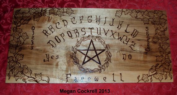 wood spirit board ouija board handmade on solid maple wood. Black Bedroom Furniture Sets. Home Design Ideas