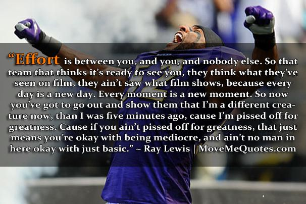 Ray Lewis Inspirational Quotes Quotesgram: Ray Lewis Picture Quote